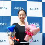 ゴーセンカップ2018 シングルス優勝は小堀桃子選手!